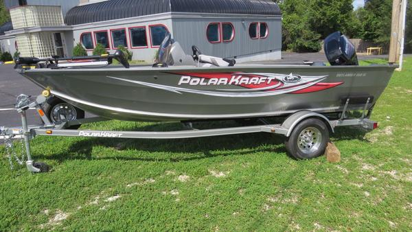 New Polar Kraft Outlander 160 SCOutlander 160 SC Aluminum Fishing Boat For Sale