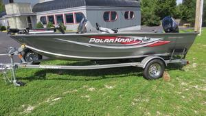 New Polar Kraft Outlander 160 SC Aluminum Fishing Boat For Sale