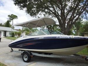 Used Yamaha Sport Boat SX 190 High Performance Boat For Sale