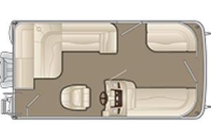 New Bennington 168 SL - 8' Narrow Beam Pontoon Boat For Sale