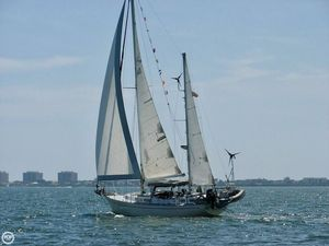 Used Hughes Columbia 40 Center Cockpit Ketch Sailboat For Sale