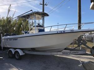 Used Key West 2300 Bluewater Center Console Fishing Boat For Sale