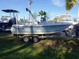 Used Polar 1900 Center Console Center Console Fishing Boat For Sale