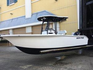 New Sea Pro 219 Deep V Center Console Center Console Fishing Boat For Sale