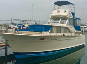 Used Chris-Craft 42 Commander Aft Cabin Boat For Sale