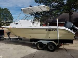 Used Sea Fox 230 Walk Around Walkaround Fishing Boat For Sale