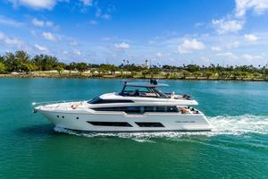 Used Ferretti Yachts 850 Motor Yacht For Sale