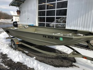 Used Tracker 1754 Pontoon Boat For Sale
