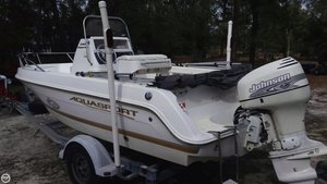 Used Aquasport 190 osprey Center Console Fishing Boat For Sale