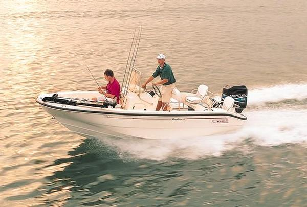 Used Boston Whaler 16 Dauntless Center Console Fishing Boat For Sale