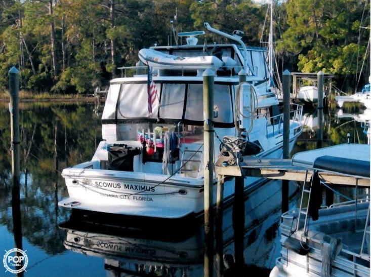 1989 high tech yachts 51 cockpit motor yacht photo 2 for Used boat motors panama city fl