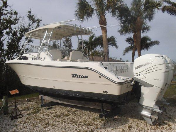 Used Triton 301 XD With 2017 Verados with Warranty301 XD With 2017 Verados with Warranty Saltwater Fishing Boat For Sale
