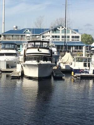 Used Californian 42' Motor Yacht Flybridge Boat For Sale