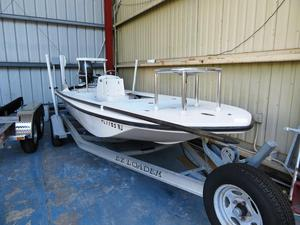 Used Hewes 17 Tailfisher Flats Fishing Boat For Sale