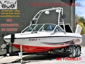 Used Sanger V-215 Ski and Wakeboard Boat For Sale