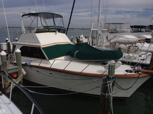Used Egg Harbor 40 Sports Fishing Boat For Sale