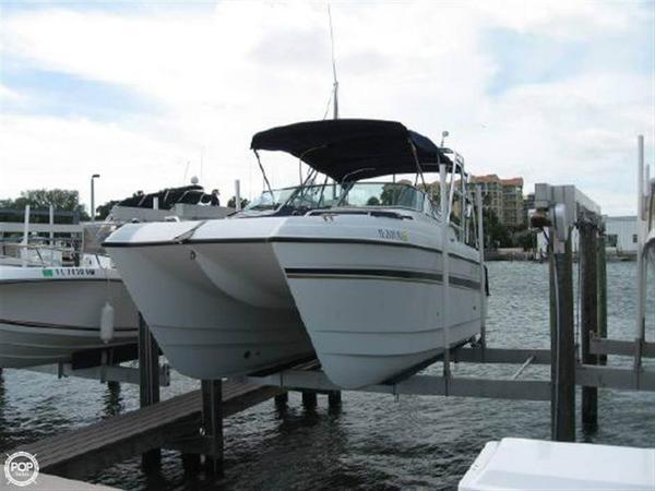 Used Glacier Bay 2240 Power Catamaran Boat For Sale