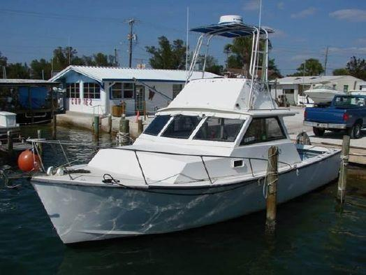 Used Morgan 31 Offshore Fishing Cuddy Sports Fishing Boat For Sale