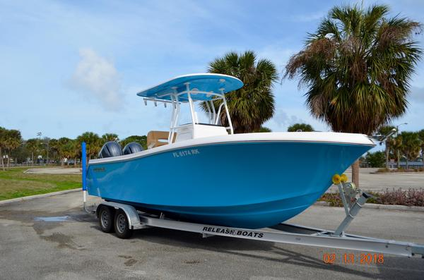 Used Release 238 RX Center Console Fishing Boat For Sale