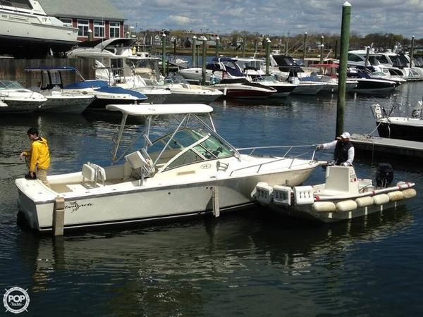Used Albemarle 248 Express Fisherman Walkaround Fishing Boat For Sale