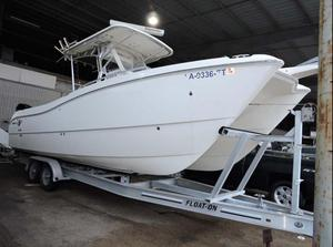 Used World Cat 270 TE Saltwater Fishing Boat For Sale