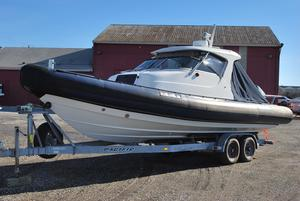 Used Protector 28' Cabin RIB High Performance Boat For Sale