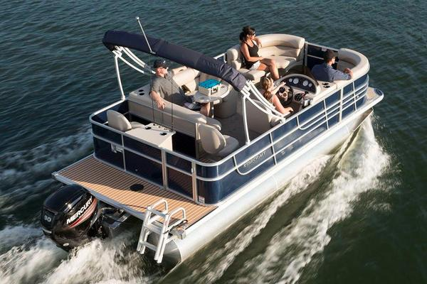 Used Starcraft EX 20 CF Pontoon Boat For Sale