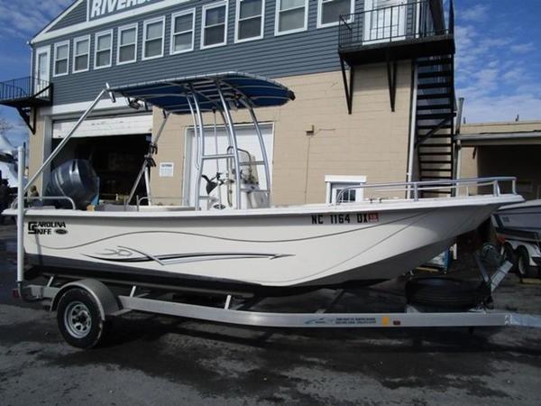 Used Carolina Skiff DLV Series Center Console Fishing Boat For Sale