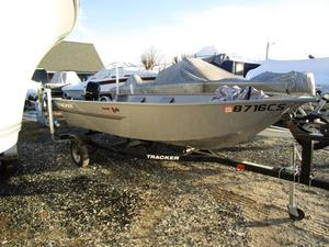 Used Tracker Guide V-14 Deep V Utility Boat For Sale