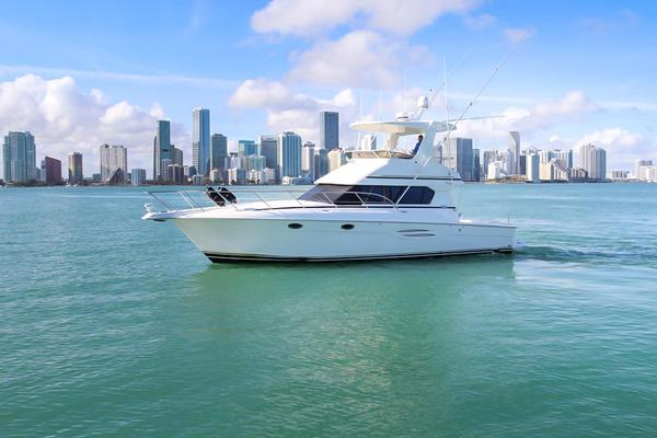 Used Silverton Power Saltwater Fishing Boat For Sale