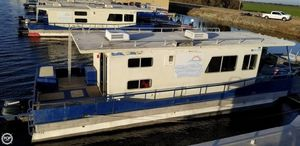 Used Master Fabricators 43 Houseboat House Boat For Sale