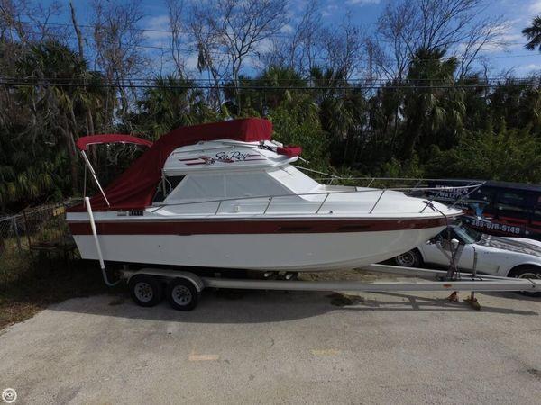 Used Sea Ray Sedan Bridge SRV 270 Sports Fishing Boat For Sale