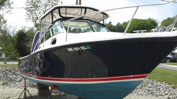 Used Pursuit 255 Offshore Cuddy Cabin Boat For Sale