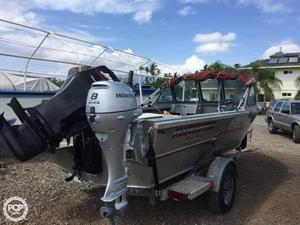 Used Alumaweld 17 Stryker Sport Aluminum Fishing Boat For Sale