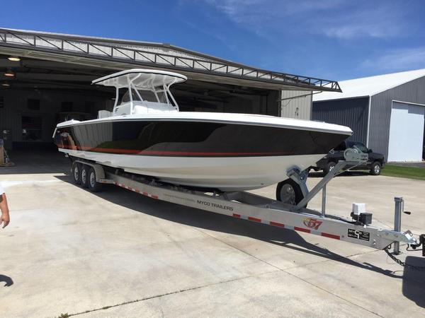 Used Cigarette 39 Top Fish Cruiser Boat For Sale