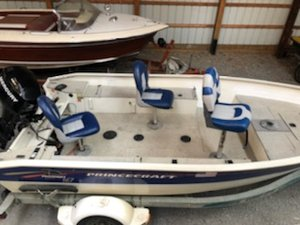 Used Princecraft PROSERIES 167 Sports Fishing Boat For Sale
