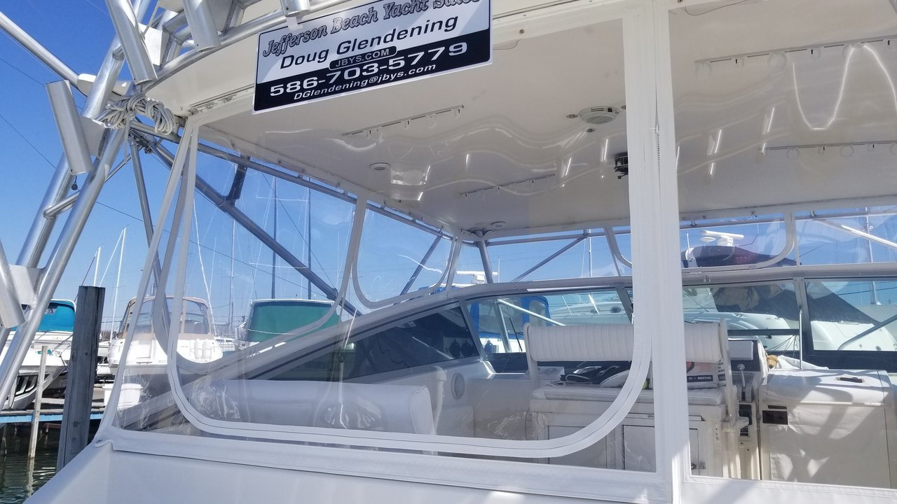 1995 Used Viking 43 Express Cruiser Boat For Sale - $149,000