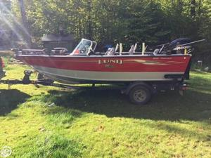 Used Lund 1850 Fisherman Aluminum Fishing Boat For Sale