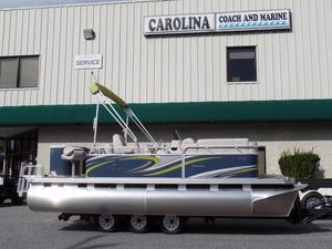 New Qwest Adventure 7518 Cruise Deluxe FTL Pontoon Boat For Sale