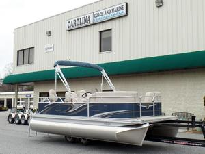 New Qwest LS 7518 XRE Cruise Pontoon Boat For Sale