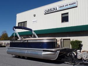 New Crest II 210 L Pontoon Boat For Sale