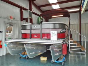 New Crest III 250 SLR2 Pontoon Boat For Sale