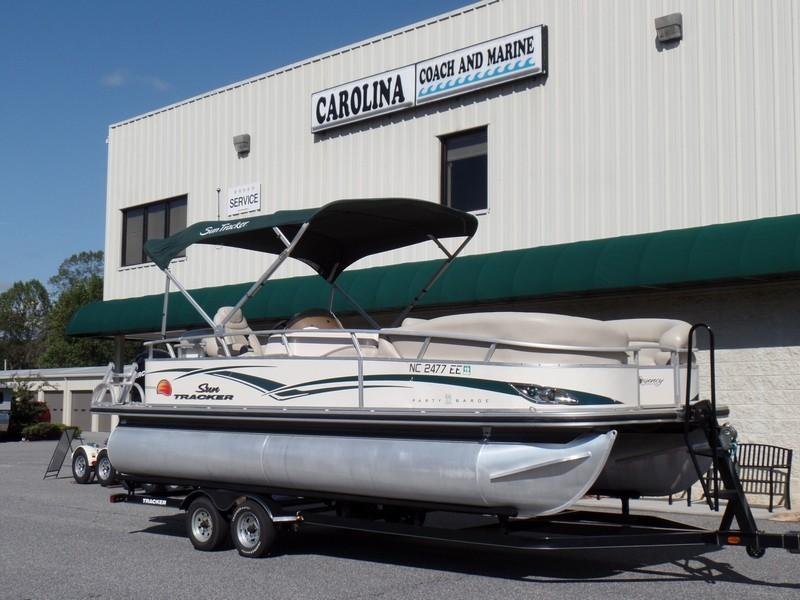 Sun Tracker Pontoon Boats >> 2011 Used Sun Tracker Party Barge 22 Regency Editionparty