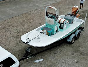 Used Gulf Coast 200 Custom Flats Fishing Boat For Sale