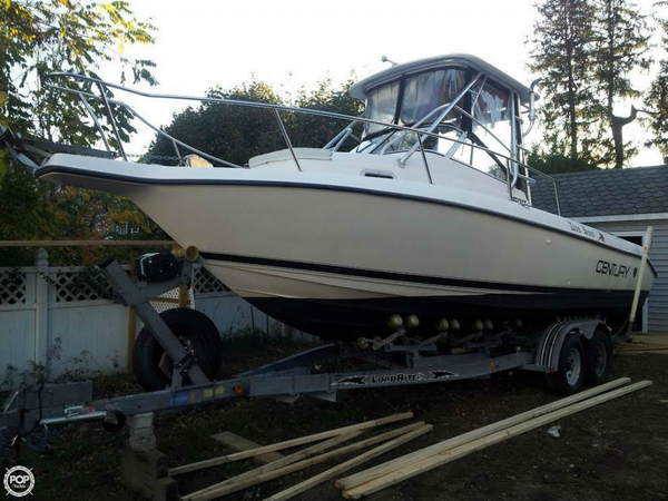 Used Century 2600 Wa Walkaround Fishing Boat For Sale