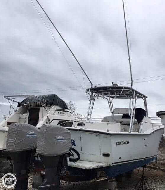 Used Ocean Master 34 Walkaround Fishing Boat For Sale
