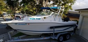 Used Seaswirl 2100 WA Striper Walkaround Fishing Boat For Sale