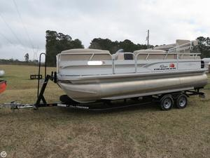 Used Sun Tracker Party Barge 22 RF XP3 Pontoon Boat For Sale