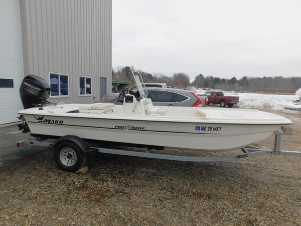 Used Mako Pro Skiff 17 CC Commercial Boat For Sale