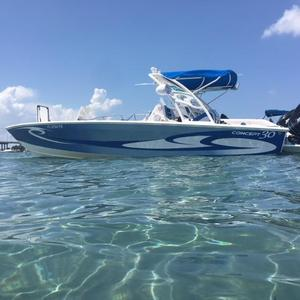 Used Concept 30 Center Console Fishing Boat For Sale